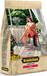 Корм для кошек BROOKSFIELD INDOOR индейка/рис 2 кг.