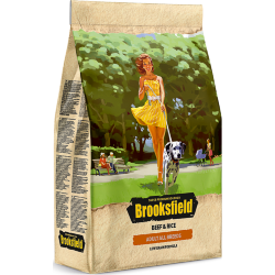Корм для собак BROOKSFIELD ADULT ALL BREEDS говядина/рис 0,8 кг.